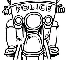 Police Officer Coloring Pages Page Free Printable Sheets