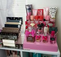 Cute If you me pink perfume and pallets I ll never leave