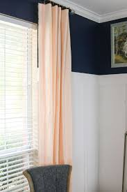 No Drill Curtain Rod Brackets by How To Hang Curtains Over Vertical Blinds Youtube Apartment For