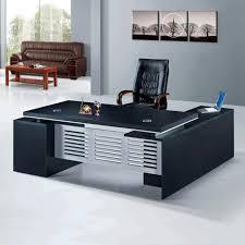 Interior Amazing Black Elegant Desk Modern fice Furniture
