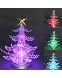 Goodplay USB Power Muti Colour Desk Emitting Mini LED Christmas Tree Light Glowing Lights
