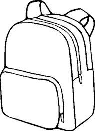 Bag clipart black and white Pencil and in color bag clipart