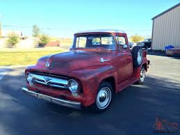 1956 Ford F100, Pickup Truck, Red Patina, Original, Rat Rod, AZ Truck