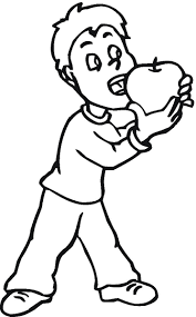 Apple Coloring Pages 6