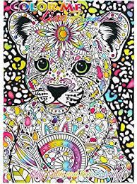 Lisa Frank Color Me Coloring Book