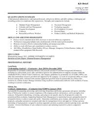 Examples Executive Assistant Administrative Objective New Pleasant Rhcrossfitrespectcom Best Career Rhbluegenieco Resume Profile