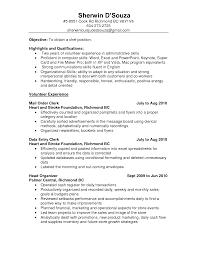 Fascinating Resume Samples Clerical Skills For Resumes Twentyeandi