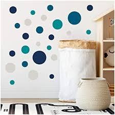 yabaduu 100 klebepunkte kreise punkte wandtattoo kinderzimmer schlafzimmer babyzimmer aufkleber folie deko selbstklebend für junge mädchen pastell