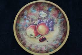 Daher Decorated Ware 11101 by 20 Daher Decorated Ware 11101 Vintage Fruit Designed Daher