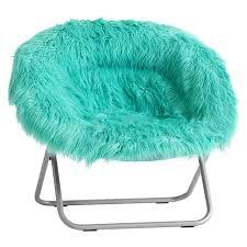 Pool Fur Rific Faux Hang A Round Chair