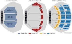 Cadillac Palace Seating Chart Detailed Cibc theater seating