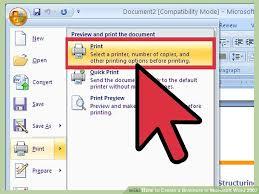 Image Titled Create A Brochure In Microsoft Word 2007 Step 10