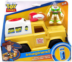 100 Pizza Planet Truck Fisher Price Toy Story Imaginext Buzz Lightyear
