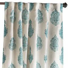 Pier 1 Imports Peacock Curtains by Rambagh Paisley Curtain Teal Pier 1 Imports Apartment