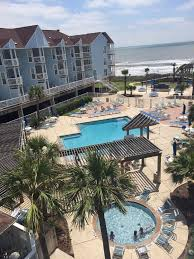 Complex Offers A Large Pool Hot Tub Plus Separate Kiddie Adult Aerial View Seascape Condominiums