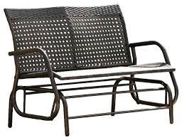 glider outdoor furniture wicker amasso