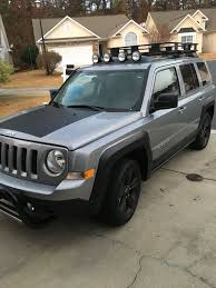 2016 Jeep Patriot With 3 Inch Pull Bar, Hood Decal, Painted Black ...
