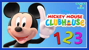 Mickey Mouse Clubhouse 3D Coloring Book Learn Numbers