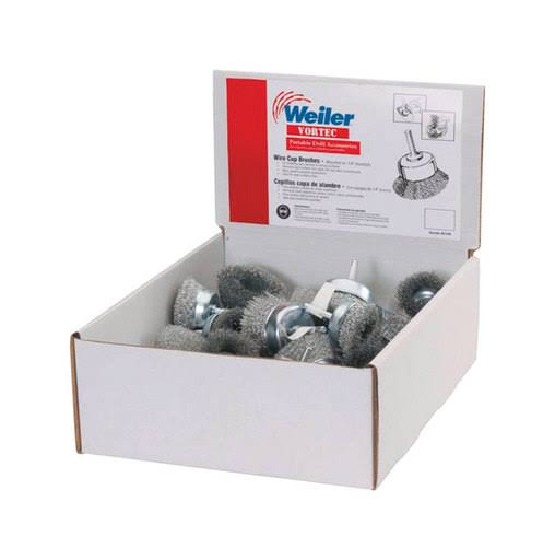 Weiler 61265 Ace Cup End Brushes 1-3/4 in. Coarse