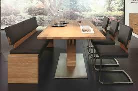 tischgruppe essgruppe esszimmer bank tisch stühle asteiche massiv geölt lanatura