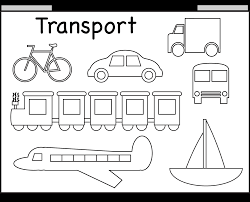 Types Of Transportation Coloring PagesOfFree Download Printable And Pages Vehicles