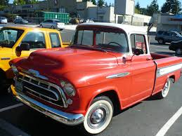 100 Cameo Truck 1955 Next To My Husbands Ford Ranger You Can See How