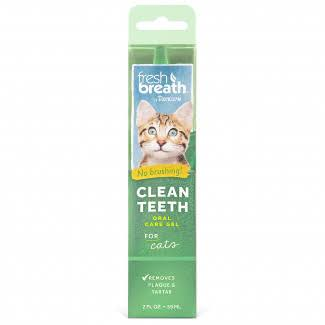 Tropiclean Fresh Breath for Cats - Clean Teeth Gel, 2oz