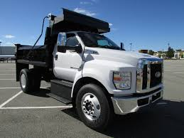 2018 New Ford F650 DUMP BODY At Watertown Ford Serving Boston, MA, IID  17408697