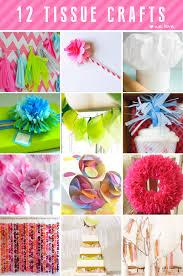 12 Tissue Paper Crafts