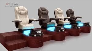Gulfstream Plastics Pedicure Chairs by Lexor Design Youtube
