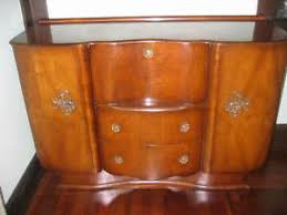 vintage 30s deco cocktail bar liquor cabinet made by heron
