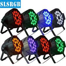 8pcs lot 18x18w led par 6in1 RGBWA UV led par can light high
