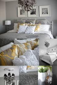 Gray And Yellow Bedroom Adriennek