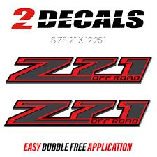100 Chevy Truck Parts Catalog Free Z71 Off Road Decals F Stickers Silverado GMC Sierra