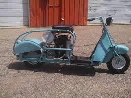 1948 Cushman Scooter Model