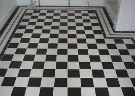black white tiles walls and floors