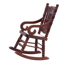 Amazon.com: 1/12 Dollhouse Miniature Rocking Chair Model Brown: Toys ... Indoor Wooden Rocking Chairs Cracker Barrel Old Country Store Fniture The Hot Bid Chair Benefits In The Age Of Work Coalesse Outdoor Two People Sitting 22 Popular Types To Make Your Home Stylish Fisher Price New Born To Toddler Rocker Review Best Baby Rockers Rated In Recling Patio Helpful Customer Reviews Amazoncom Gripper Nonslip Omega Jumbo Cushions 1950s 1960s Couple Man Woman Sitting On Porch In Rocking Chairs Most Comfortable And Recliners For Elderly Comforting Fictions Dementia Care New Yorker