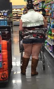 Crazy Dressers At Walmart by Shorts Boots And Midriff Tops At Walmart Fashion Fail Funny