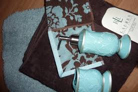 Teal Bathroom Decor Ideas by Blue And Brown Bathroom Rugs Rug Designs