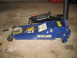 Craftsman Aluminum Floor Jack 3 Ton by Show Off Your Jack S The Garage Journal Board