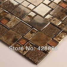 glass mosaic tile sheets backsplash fireplacde