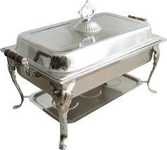 8qt Rectangular Stainless Steel 1850 Aluminum Chafing Dish