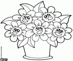 96 Ideas Flower Pot Coloring Pages On Emergingartspdx