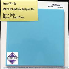 solids 6x6 series national brands pool tile