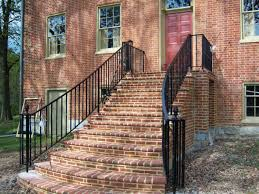 Exterior Railings - Antietam Iron Works Metal And Wood Modern Railings The Nancy Album Modern Home Depot Stair Railing Image Of Best Wood Ideas Outdoor Front House Design 2017 Including Exterior Railings By Larizza Custom Interior Wrought Iron Railing Manos A La Obra Garantia Outdoor Steps Improvements Repairs Porch Steps Cable Rail At Concrete Contemporary Outstanding Backyard Decoration Using Light 25 Systems Ideas On Pinterest Deck Austin Iron Traditional For