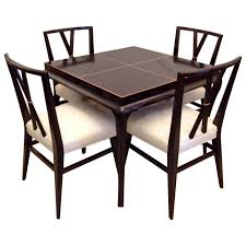Dining Room Furniture Dallas Tx Rare Mid Century Chairs And Table By LuOEE Bke For
