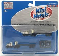 99 N Scale Trucks EW CMW 51125 Mini Metals 2 US Steel White 32