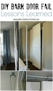 Double Bypass Sliding Barn Door System - A DIY FAIL - Domestic ... Epbot Make Your Own Sliding Barn Door For Cheap Bypass Doors How To Closet Into Faux 20 Diy Tutorials Diy Hdware Build A Door Track Hdware How To Design The Life You Want Live Tips Tricks Great Classic Home Using Skateboard Wheels 7 Steps With Decor Ipirations Best 25 Doors Ideas On Pinterest Barn Remodelaholic 35 Rolling Ideas Exterior Kit John Robinson House