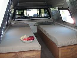 Toyota Truck Bed Camper Build ... A Different Take, I Like It ...