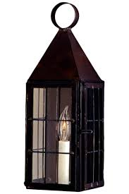 colonial williamsburg wall sconce copper lantern made in usa